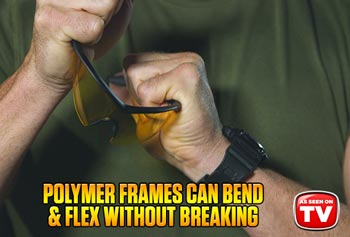 Polymer frames can bend& flex without breaking